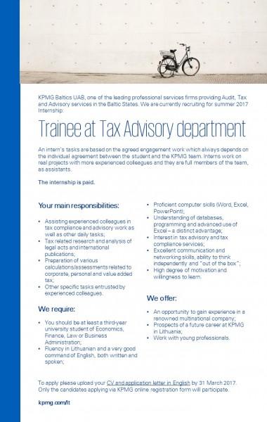 Tax trainee summer copy